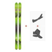 Ski K2 Wayback 88 Ecore 2018 + Fixations randonnée + Peau10B0202.101