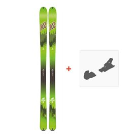 Ski K2 Wayback 88 Ecore 2018 + Fixation de ski10B0202.101