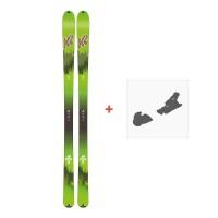 Ski K2 Wayback 88 Ecore 2018 + Fixation de ski