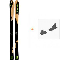 Ski Liberty Variant 87 2017 + Fixation de ski
