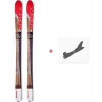 Ski Nordica Wild Belle 2016 + Fixation de ski