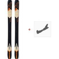 Ski Nordica Nrgy 107 2016 + Fixation de ski