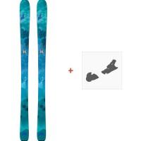 Ski Nordica Astral 84 Flat 2018 + Fixation de ski