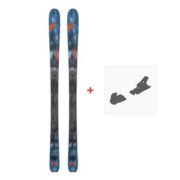 Ski Nordica Navigator 85 Flat 2018 + Fixation de ski