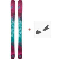 Ski Nordica Astral 88 Flat 2018 + Fixation de ski