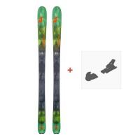 Ski Nordica Navigator 90 Flat 2018 + Fixation de ski