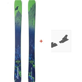 Ski Nordica Enforcer 110 Flat 2018 + Fixation de ski