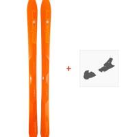 Ski Elan Ibex 94 Carbon 2018 + Fixation de ski