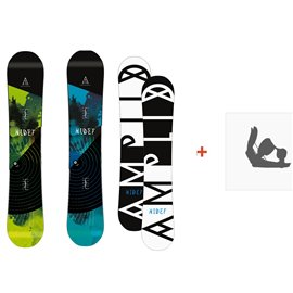 Snowboard Amplid The Hidef 2015 + FixationA-10003
