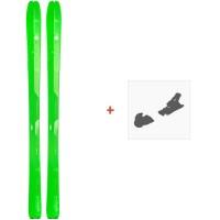 Ski Elan Ibex 84 Carbon 2019 + Fixation de skiADMDBF