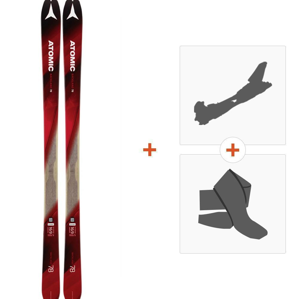 046f47c56a3a5 Ski Atomic Backland 78 2018 + Tourenbindung + Felle - ski shop schweiz