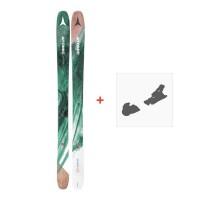 Ski Atomic Backland FR WMN 102 + Warden 13 2018 + Fixation de ski
