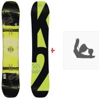 Snowboard K2 WWW 2018 + Fixation