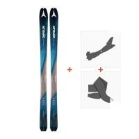Ski Atomic Backland 85 2018 + Fixation randonnée et Peau / 176RENTAL