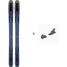 Ski Salomon N QST 99 2018 + Fixation de ski