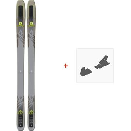 Ski Salomon N QST 92 2018 + Fixation de ski