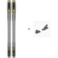 Ski Salomon N QST 92 2018 + Fixation de skiL39863000