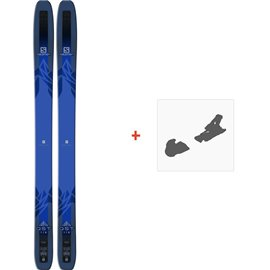 Ski Salomon QST 118 2018 + Fixation de ski