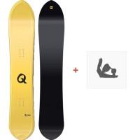 Snowboard Nitro Quiver Slash 2018 + Fixation830212-1