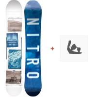 Snowboard Nitro Team Exposure 2018 + Fixation830227