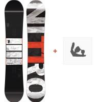 Snowboard Nitro T1 2018 + Fixation830240
