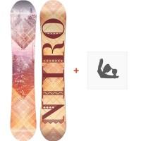 Snowboard Nitro Mercy 2018 + Fixation830253