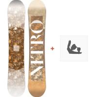 Snowboard Nitro Arial 2018 + Fixation830256