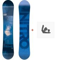 Snowboard Nitro Prime Blue 2018 + Fixation830284