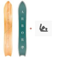 Snowboard Arbor Clovis Womens 2018 + Fixation