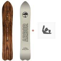 Snowboard Arbor Cosa Nostra 2018 + Fixation11811F17