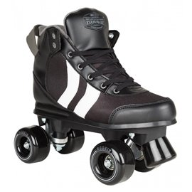 Rookie Rollerskates Deluxe Black/White/Grey