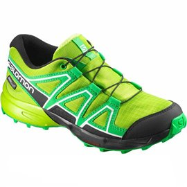 Salomon Shoes Speedcross CSWP J Lime Green/GR/BK 2018