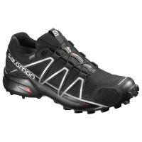 Salomon Shoes Speedcross 4 GTX Black/Black/SI 2018L38318100
