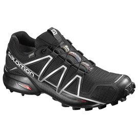 Salomon Shoes Speedcross 4 GTX Black/Black/SI 2018