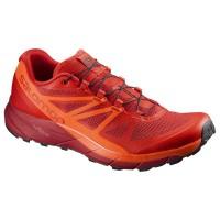 Salomon Shoes Sense Ride Fiery Red/Scarlet Ib/Re 2018L39849000