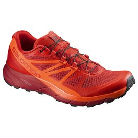Salomon Shoes Sense Ride Fiery Red/Scarlet Ib/Re 2018