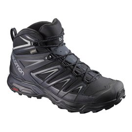 Salomon Shoes X Ultra 3 Mid Gtx Bk/India Ink/M 2018