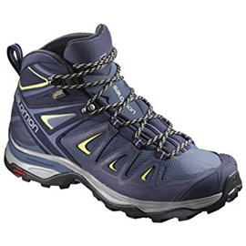 Salomon Shoes X Ultra 3 Mid Gtx W Crown Blue/E 2018