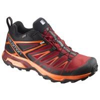 Salomon Shoes X Ultra 3 Gtx Bk/Red Dalhia/Scarl 2018L39867000