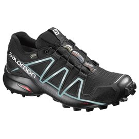 Salomon Shoes Speedcross 4 Gtx W BK/BK/Metallic 2018L38318700