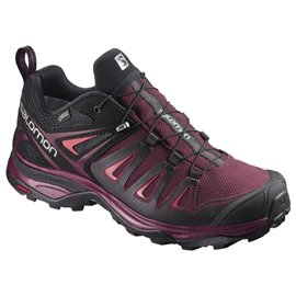 Salomon Shoes X Ultra 3 Gtx W Tawny Port/Bk/Liv 2018L39868100