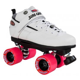 Suregrip Quad Skates Rebel Derby Package White