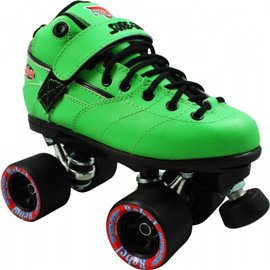 Suregrip Quad Skates Rebel Derby Package Green