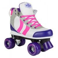 Rookie Rollerskates Deluxe Pink/Grey/PurpleRKE-SKA-2520
