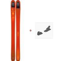 Ski Dynafit Beast 108 2019 + Fixation de ski08-0000048466
