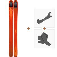 Ski Dynafit Beast 108 2019 + Fixations randonnée + Peau08-0000048466