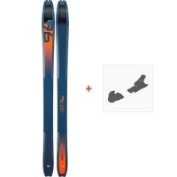 Ski Dynafit Tour 96 2019 + Fixation de ski08-0000048463