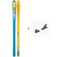 Ski Dynafit PDG Orange/Blue 2019 + Fixation de ski08-0000048468