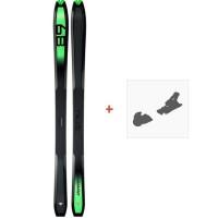Ski Dynafit Carbonio 89 2019 + Fixation de ski