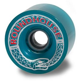 Carver Roundhouse Mag Wheels Aqua - 75mm 81amag7581